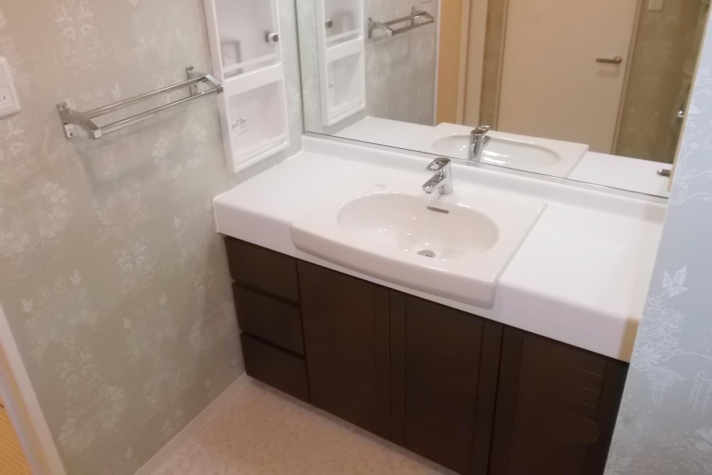 洗面所、お風呂のリフォーム①