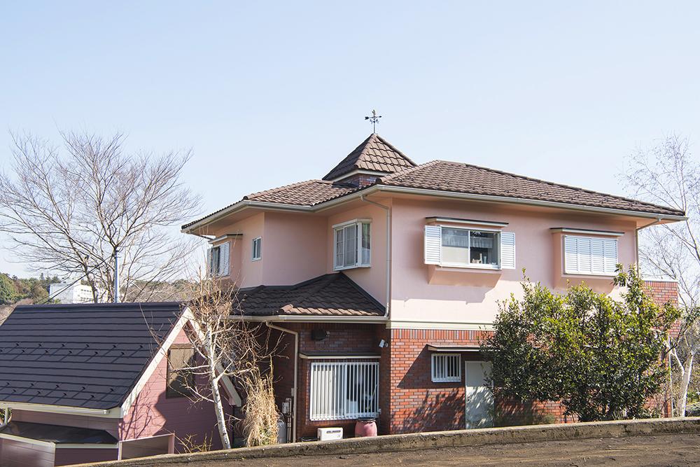 風見鶏のある家(神奈川県横浜市)